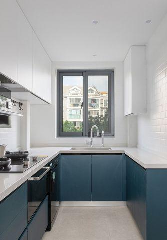 60平米三现代简约风格厨房设计图