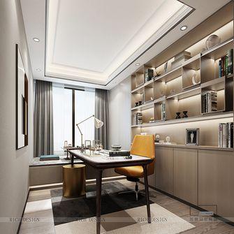 140平米四室一厅中式风格书房装修图片大全