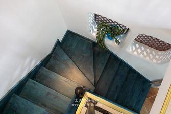 富裕型140平米复式混搭风格楼梯装修图片大全