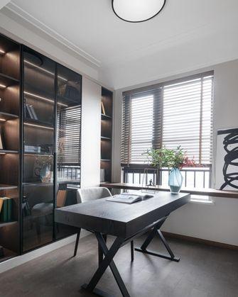 110平米四室一厅现代简约风格书房装修图片大全
