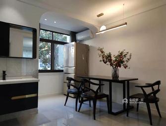 60平米一居室中式风格餐厅图