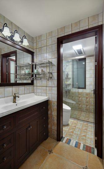 130平米美式风格卫生间设计图