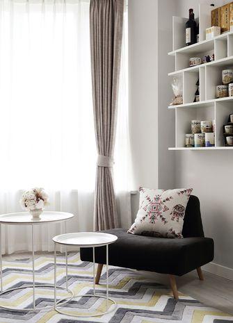 110平米三室两厅宜家风格书房欣赏图