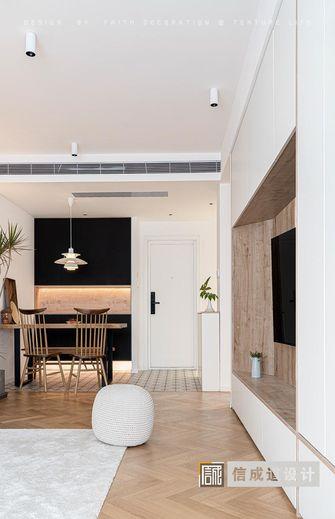 80平米三室两厅北欧风格玄关图片大全