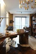 90平米法式风格书房图片
