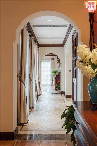 110平米三室一厅美式风格走廊效果图