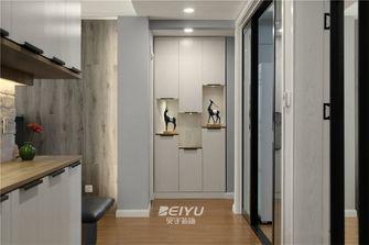 80平米三室两厅现代简约风格走廊装修效果图