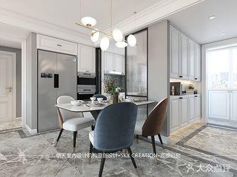 100平米三室两厅法式风格餐厅图