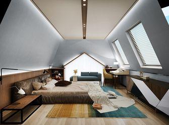 120平米复式混搭风格阁楼设计图
