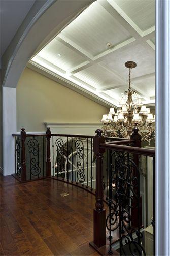 豪华型140平米别墅东南亚风格走廊图