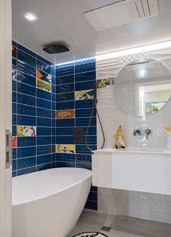 60平米一居室混搭风格卫生间装修图片大全