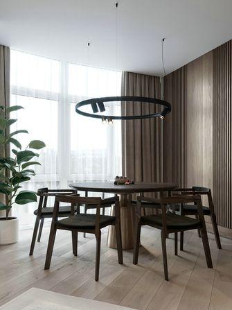 20万以上100平米三室两厅现代简约风格餐厅装修图片大全