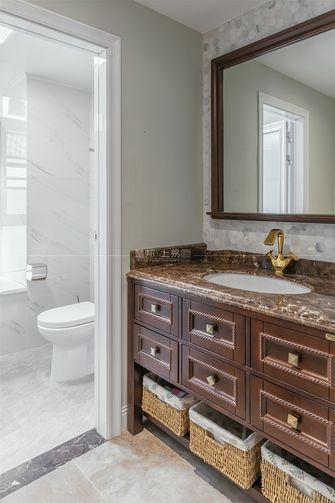 140平米三室一厅美式风格卫生间装修图片大全