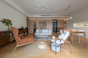 120平米日式风格客厅效果图