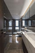 130平米三室两厅地中海风格卫生间欣赏图