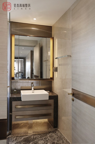 140平米四室一厅混搭风格卫生间图片大全
