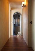 110平米四室四厅田园风格走廊图