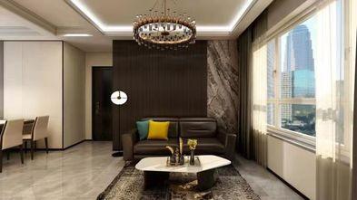 110平米混搭风格客厅欣赏图