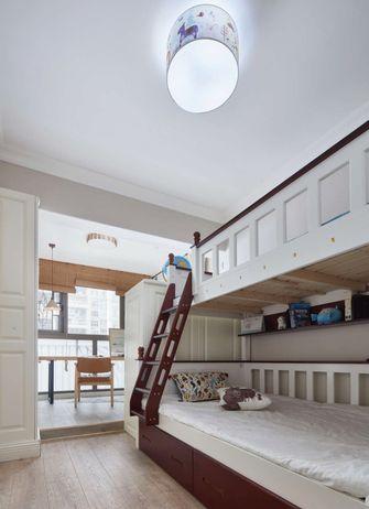 120平米三室一厅中式风格儿童房图片大全