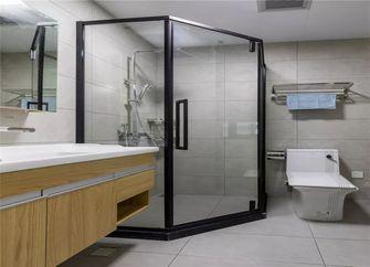 110平米三室一厅北欧风格卫生间欣赏图