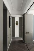 120平米三室一厅现代简约风格走廊欣赏图