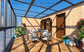 20万以上140平米复式东南亚风格阳台装修图片大全