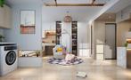 40平米小户型日式风格客厅设计图