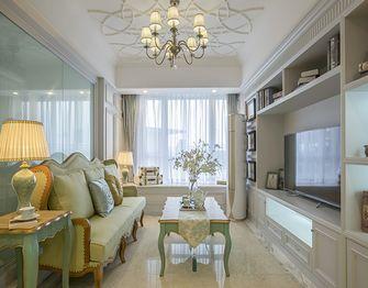 120平米复式欧式风格客厅效果图
