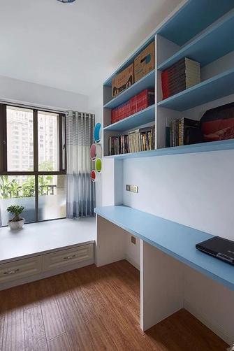 100平米三室两厅田园风格书房图片