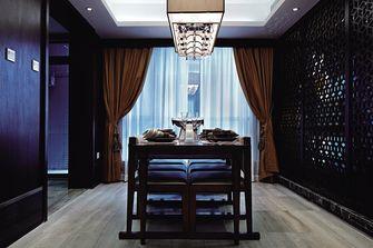 120平米三室两厅东南亚风格餐厅图
