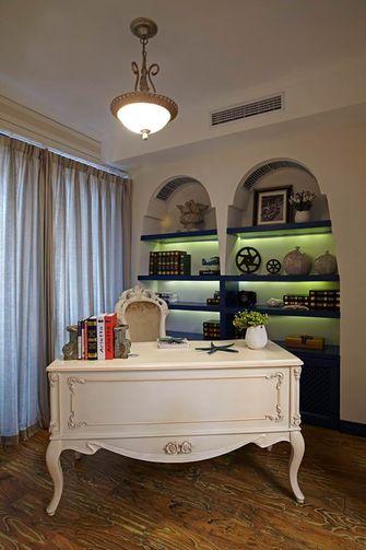 130平米四室两厅地中海风格书房装修效果图
