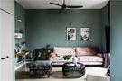 70平米公寓田园风格客厅装修图片大全