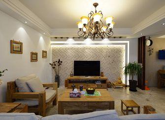 110平米美式风格客厅装修案例