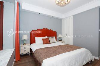 90平米三美式风格卧室欣赏图