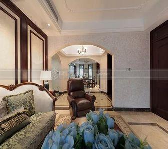 140平米四室三厅欧式风格客厅图片大全