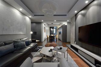 120平米三英伦风格客厅设计图