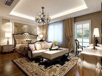 经济型140平米四室四厅欧式风格卧室图片大全