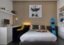 130平米三室一厅混搭风格儿童房装修效果图