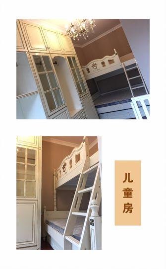 120平米三室两厅欧式风格儿童房设计图