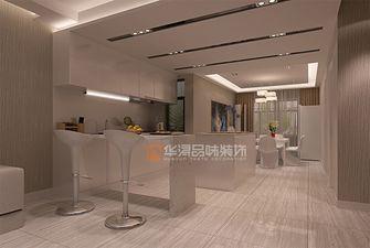 20万以上140平米复式现代简约风格餐厅图片