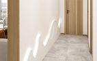 100平米三室一厅中式风格走廊图