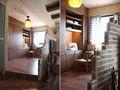 110平米四室四厅田园风格书房装修效果图