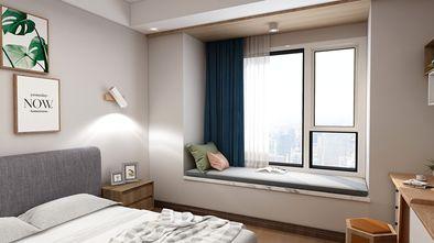 130平米四室两厅日式风格卧室图片大全