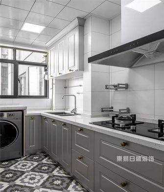 120平米三室一厅美式风格厨房装修案例