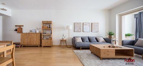 90平米宜家风格客厅图片