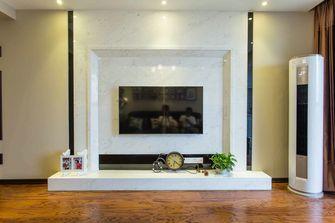 110平米三室五厅英伦风格客厅图片