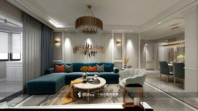 60平米欧式风格客厅图片大全