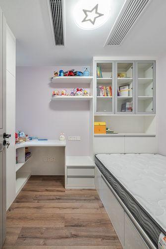豪华型130平米三室两厅现代简约风格儿童房图