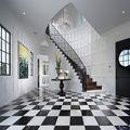豪华型140平米别墅地中海风格楼梯装修效果图