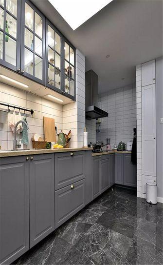 90平米公寓中式风格厨房图